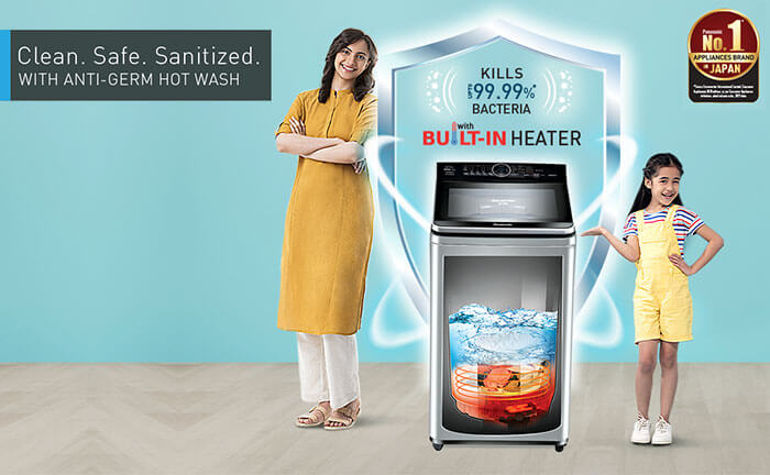 New range of Washing Machines